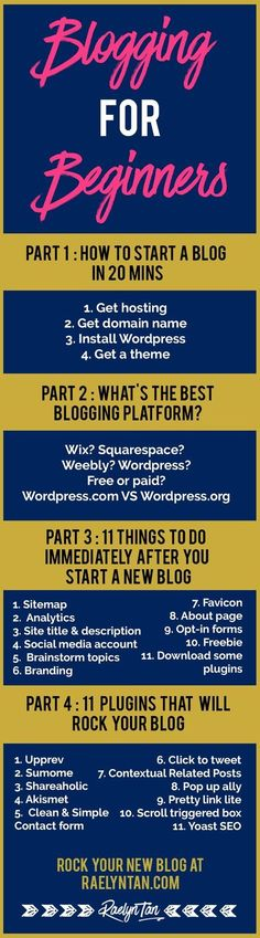 Blogging For Beginners: How to start a website to make money blogging in 20 minutes using self-hosted WordPress. This is a 4-part series for beginner bloggers to start a blog business for profit.