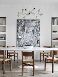 Dining Room | Jr Apartment by Nicolas Schuybroek Architects | est living