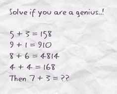 Funny pictures about If You're A Genius. Oh, and cool pics about If You're A Genius. Also, If You're A Genius photos. Tricky Riddles, Jokes And Riddles, Super Hard Riddles, Hard Riddles With Answers, Mystery Riddles, Kid Jokes, Brain Teasers Riddles, Trick Questions, Funny Quotes