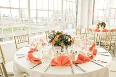 Peach/Apricot themed Wedding Decor