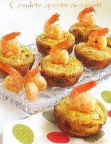 » cosulete aperitiv din foietajCulorile din Farfurie Seafood, Muffin, Food And Drink, Breakfast, Salads, Sea Food, Morning Coffee, Muffins, Cupcakes