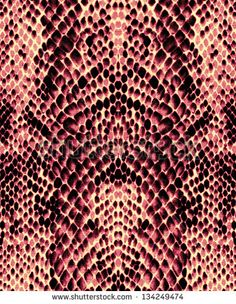 Red snake skin texture background