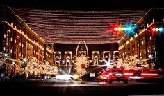 Frisco Square Christmas Lights - Frisco, Texas | by Roger_Robinson, via Flickr