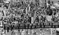 """Finding Dulcinea's """"On This Day"""" series  and challenge offers a different historical event to explore--great way to start your homeschooling day. Here, the anniversary of the Equal Rights Amendment being passed by Congress in 1972."""