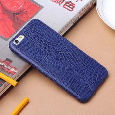 For iPhone 7 7 Plus Ultra Thin Luxury Crocodile Print PU Cover Phone Case #UnbrandedGeneric