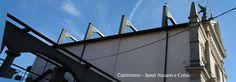 vista sugli archi rampanti della chiesa di Castronno dedicata ai santi Nazaro e Celso. Le mie foto http://www.itcvarese.it/