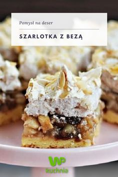 Polish Recipes, Dessert Drinks, Food Cakes, Food Inspiration, Cake Recipes, French Toast, Cheesecake, Deserts, Food And Drink