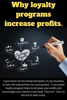 Loyal clients are the bread and butter of your business so why not reward them for coming back. A successful loyalty program helps to increase your profits and encourages your clients to stay loyal. How so? Well, read on, because if you want to improve your client retention rate and increase profits, you've come to the right place.