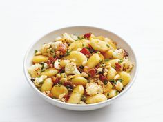 Gnocchi with Bacon and Roasted Cauliflower recipe from Food Network Kitchen via Food Network
