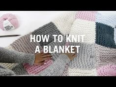 Learn How to Knit Your First Blanket http://www.craftdrawer.com/2016/03/learn-how-to-knit-your-first-blanket-or.html