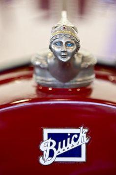 1928 Buick Custom Speedster Hood Ornament 2 Photograph by Jill Reger