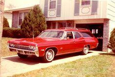 1968 Chevy Impala Wagon by hyperjet, via Flickr