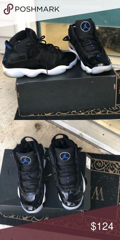 fd9d57ef5cebaf Space Jams (6 rings) 9.5 Worn twice very good condition Jordan Shoes  Sneakers Space