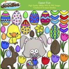 Easter Fun Clip Art