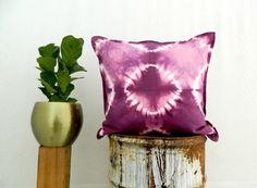 KARMA . tie dye cushion cover . pillow . throw cushion . decorative pillow…