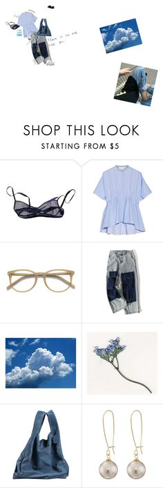 """what's the point w/out you?"" by mauzabel ❤ liked on Polyvore featuring The Lake & Stars, Victoria, Victoria Beckham, Ace, Maison Margiela, Hello Darling and Lauren Ralph Lauren"