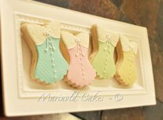 Bridal Shower Corset Cookies — Cookies!