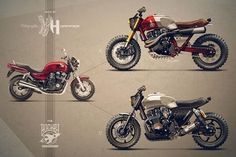 1992 HONDA CB 750 by Holographic Hammer