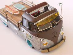 pick up miniaturas em madeira - Recherche Google