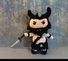 warrior Tryndamere amigurumi doll di LovelyPezz su Etsy