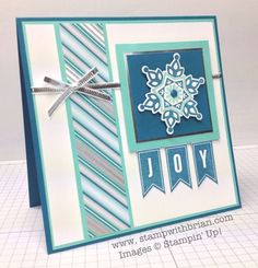 Festive Flurry, A Banner Christmas, Stampin' Up!, Brian King, PPA173