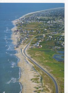 Mirlo Beach Rodanthe NC - We stayed near the Pier.  This was before Hurricane Irene changed the beach . . .:(