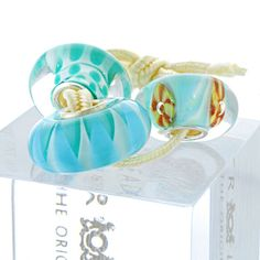 Trollbeads Uniques OOAK - Trilogy. – Exclusive Bead Store