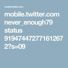 mobile.twitter.com never_enough79 status 919474472771612672?s=09