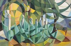 View Cubist Landscape by Mary Swanzy on artnet. Browse upcoming and past auction lots by Mary Swanzy. Synthetic Cubism, Irish Art, Art For Art Sake, Abstract Art, Abstract Trees, Art For Sale, Art History, Oil On Canvas, Drawings