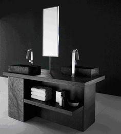 Schiefer Waschtische haben eine matte Oberfläche, sind leicht zu pflegen, vor allem sind Schiefer Waschtische pure Natur, standfest, auch stillvoll und rein.  http://www.maasgmbh.com/naturstein_schiefer_waschtische