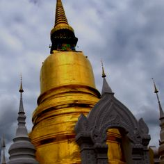 Solid gold Buddist temple. ......Thailand