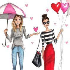 Spread love #fashionsketch #fashionillustration #fashionillustrator #boston #bostonblogger #bostonillustrator #copic #copicmarkers #copicart #hnicholsillustration Fashion Quotes, Fashion Art, Fashion Design, Fashion Vector, Cute Summer Outfits, Fashion Sketches, Fashion Illustrations, Pretty Art, Cute Illustration