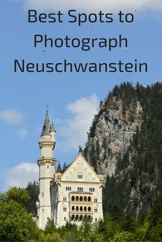 Neuschwanstein in Germany is truly a fairy tale canyon. Discover some fo the best views and spots to photograph this icon. Click for more photos from different angles!