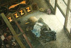 Sleeping Man / Oscar Oiwa