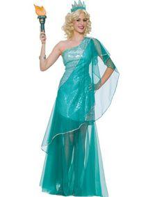 Sexy Miss Liberty Womens Costume | AROUND THE WORLD