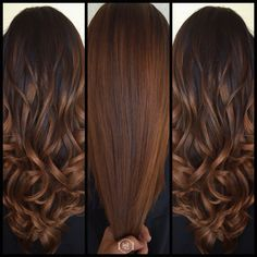 14 Winter Hair Color Trends You Have To Watch This Year - Color para el cabello - Chocolate Brown Hair Color, Brown Hair Colors, Cinnamon Brown Hair Color, Chocolate Hair, Caramel Hair With Brown, Warm Brown Hair, Golden Brown Hair, Fall Hair Colors, Hair Color Balayage
