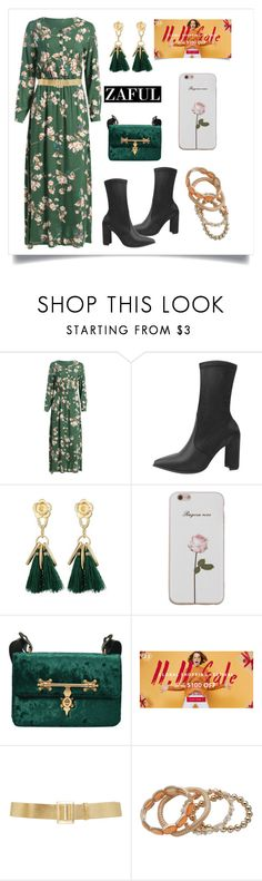 """""""Sin título #1106"""" by yblacasa ❤ liked on Polyvore featuring White Label and Reem Acra"""