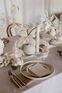 Dreamy tablescapes for the bride who loves muted, neutrals tones, linen, white florals and coral!! Adore the Lunaria and orchids.    Styling, design and florals @two_foxes_styling Linen @tble.linen.hire Tableware, ceramics, chairs and cutlery @twofoxesrentals Stationary @justmytype_nz Candles @blackblazesydney Florists, Opening Day, Neutral Tones, Inspiration Boards, Auckland, Engagement Shoots, Foxes, Wedding Vendors, Cutlery