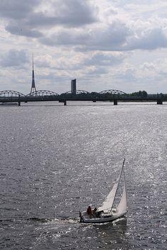 Daugava River - Riga, Latvia