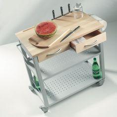 Carrello Ola Kitchen Trolley Chef Design Kitchenware Storage