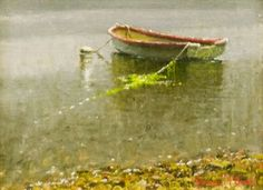 """The Boys Boat"" by Joseph McGurl - Guild of Boston Artists Pastel, Landscape Paintings, Landscapes, Various Artists, Best Artist, Home Art, Joseph, Outdoor Painting, Art Gallery"