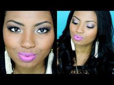 Preparação de pele negra + Maquiagem Coringa - Por Camila Nunes - YouTube