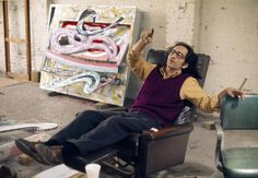 Famous Artists in their Studios - Frank Stella