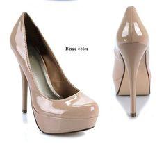 low priced 27946 4c984 Envío libre, Euramerican 2012 primavera nuevo Diseño, bombas atractivas de  la Plataforma del alto talón, mujer   zapatos de cuero de patente .