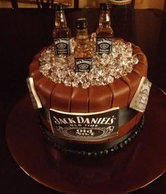 Father's Day  'Jack Daniels' Cake