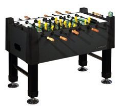 Carrom 515.00 Signature Foosball Table (Black Marble) by Carrom. $594.26. Amazon.com                Finally, a foosball table fit for any room. Finely finished down to the last detail, the Carrom Signature foosball table combines quality with functionality. The Signature cabinet is covered with 1-inch-thick Black Marble Melamine, which adds a decorative touch to any rec room. The table also includes a colorful 0.375-inch playing surface with enamel screen-printed gra...