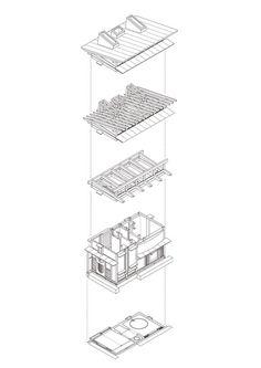 Bathhouse of Fireflies / TAKASAKI Architects   ArchDaily