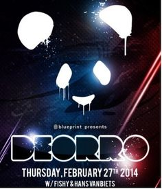 Blueprint Events & Caprice Nightclub presents DEORRO FEB 27 CAPRICE NIGHT CLUB Scream Music, Nightclub, Electronic Music, Edm, Presents, Movie Posters, Gifts, Film Poster, Favors