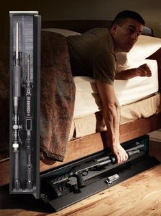 Hidden Gun Safe: Firearms, Locked and Out of Sight - SecureIt Gun Storage