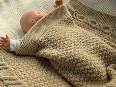 1000 id es sur le th me couvertures grosse maille sur pinterest couverture paisse - Couverture tricot grosse maille ...